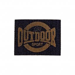 Applikation Outdoor Sport Jeans