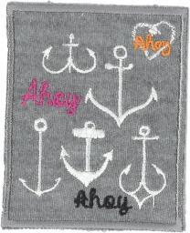 Applikation Ahoy eckig