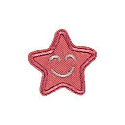 Applikation rosa Stern