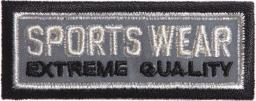 Reflective Embroidery Motif to Iron On