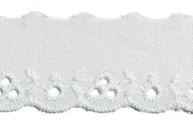 Scalloped Lace 25Mm 100%Co