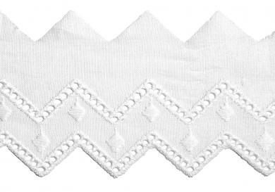 Scalloped Lace 50Mm 100%Co