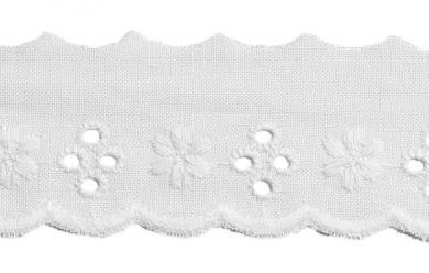 Wholesale Scalloped Lace 30Mm 100%Co