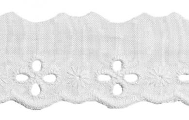 Scalloped Lace 30Mm 100%Co