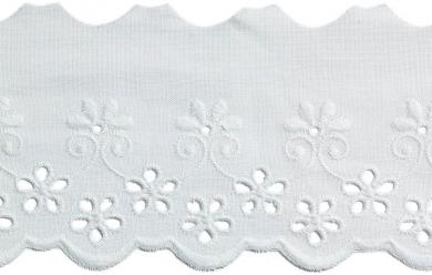 Wholesale Scalloped Lace 60Mm 100%Co