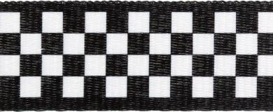 Belt webbing chessboard 38mm