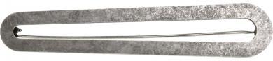 Schalschmucknadel 105mm altsilber