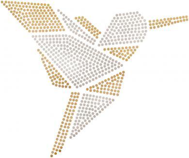 Großhandel Applikation Plättchen Kolibri