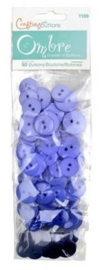 Buttons Ombre Cornflower