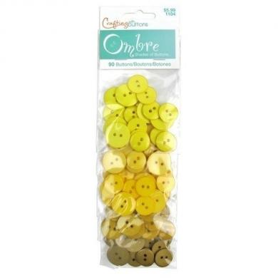 Buttons Ombre Yellow