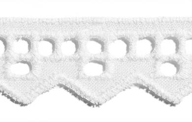 Scalloped Lace 16Mm 100%Co