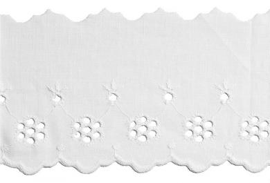 Scalloped Lace 75Mm 100%Co