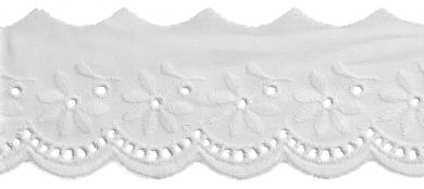 Scalloped Lace 48Mm 100%Co