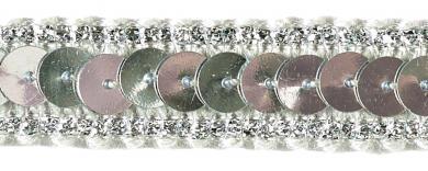 Paillettenborte 11mm