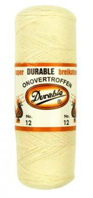 Durable Crochet Yarn 12 100g natural