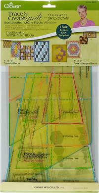 Großhandel 9525 Quilt-Schablonen Nancy Ziemann Clover