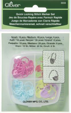 Quick Lokcing Stitch Marker Set