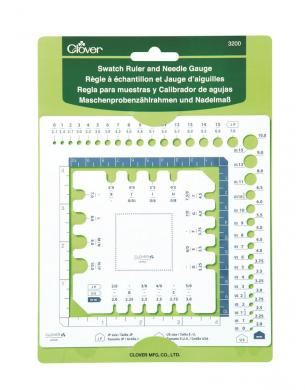 Wholesale Swatch Ruler and Needle Gauge