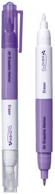 Luftlöslicher Vorzeichenstift mit Radierer (Violett Fein)
