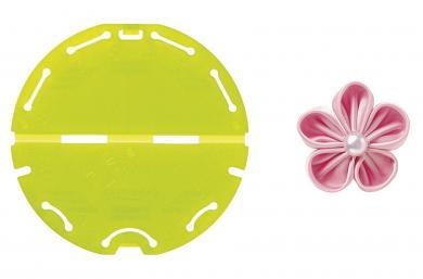 Kanzashi-Blumen-Schablone (Orchideenblüte/Kleine Größe)