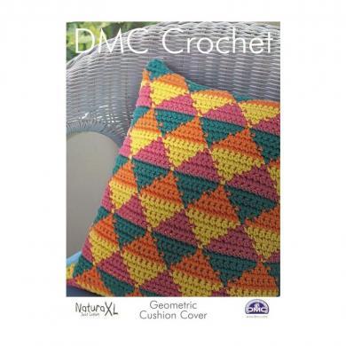 Großhandel DMC Häkelanleitung Geometrischer Kissenbezug