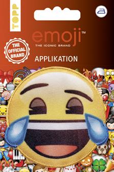 Großhandel Emoji Applikation Lachen mit Tränen