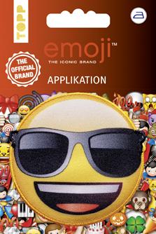 Großhandel Emoji Applikation Sonnenbrille