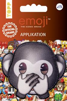 Motif Emoji monkey