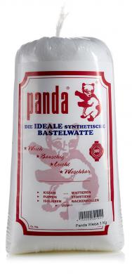 Großhandel Füllwatte Panda weiß 1Kg