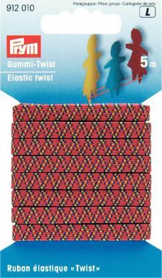 Gummi-Twist 6,5 mm dreifarbig