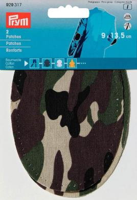 Großhandel Patches CO Camouflage 9x13,5cm sort.