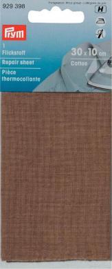 Großhandel Flickstoff CO (zum Aufbügeln) 12 x 45 cm camel