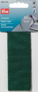 Großhandel Flickstoff CO (zum Aufbügeln) 3,5 x 100 cm grün