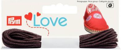 Großhandel Prym Love Espadrilles-Kreativgarn schoko