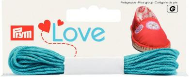Großhandel Prym Love Espadrilles-Kreativgarn türkis