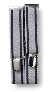 Großhandel Hosenträger Profi 125 cm 35 mm Hercules grau/blau