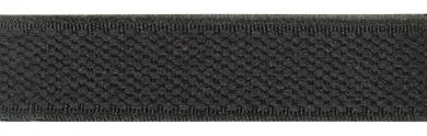 Velour-Elastic 15 mm schwarz