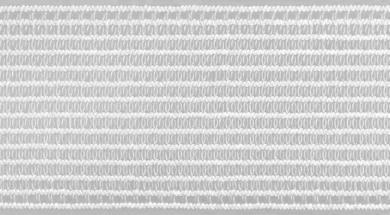 Kräusel-Elastic 40 mm weiß