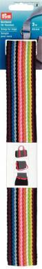 Gurtband für Taschen 40 mm mehrfarbig