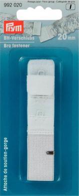 BH-Verschluß 20 mm weiß