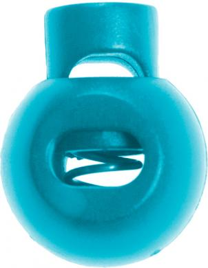 Großhandel Kordelstopper 1-loch KST 18mm rund