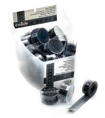 Großhandel Maßband Premium Silber Display 150cm 28St