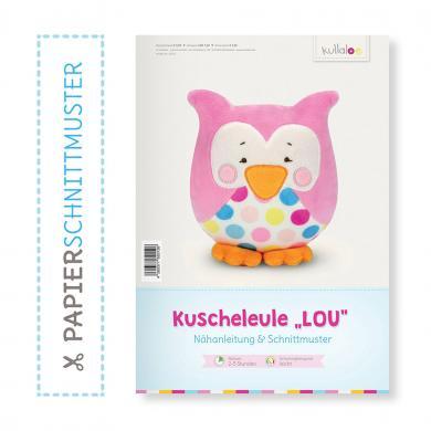"Großhandel Kullaloo Booklet Eule ""Lou"" Schnittmuster + Anleitung"