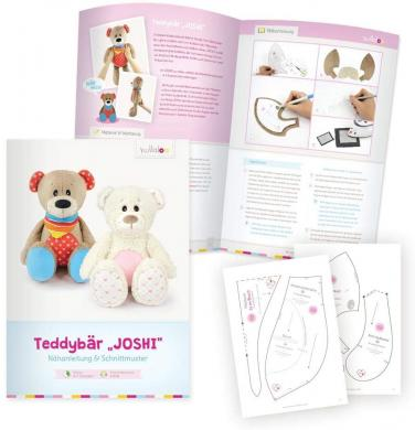 "Kullaloo Booklet Teddy ""Joshi"" Schnittmuster + Anleitung"