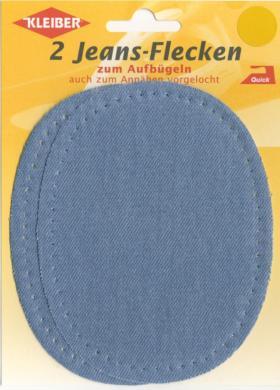 Großhandel Jeans-Flicken oval