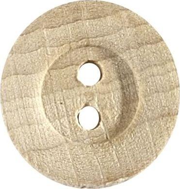 Großhandel Knopf 2-Loch Holz 18mm