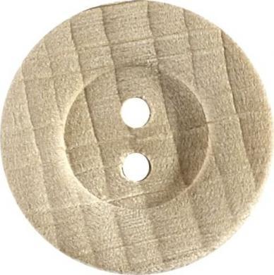 Großhandel Knopf 2-Loch Holz 22mm