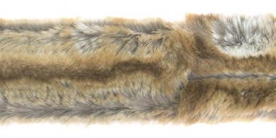 Faux Fur Trim Hamster 5cm