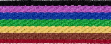 Belt Webbing Multicolor 38mm