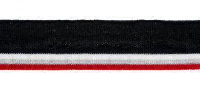 Großhandel Bündchen 35mm navy